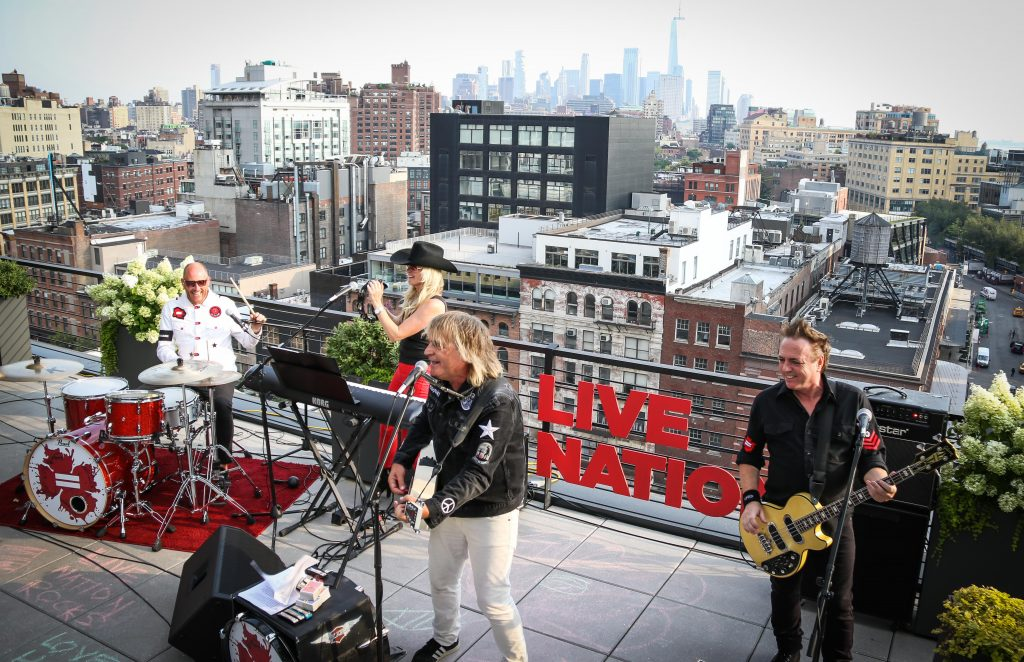 LIVE NATION ROCKS – Watch again, as Mike Peters and The