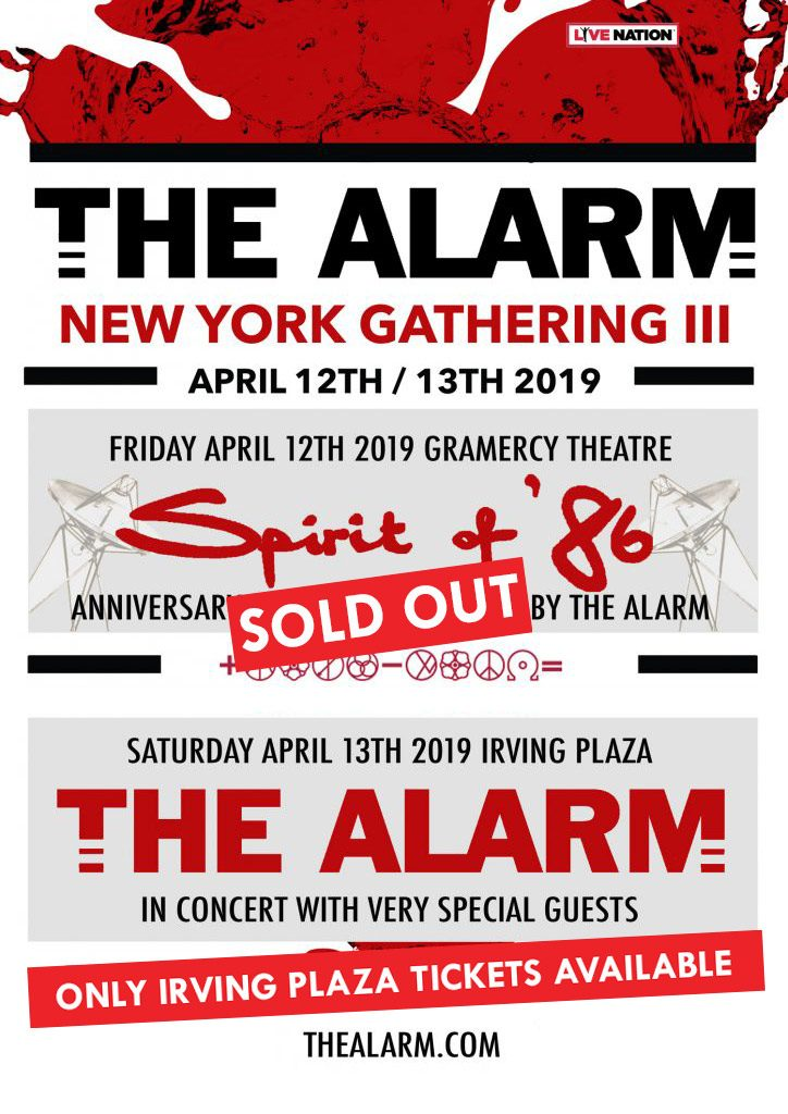 Only Saturday Night Tickets Left for New York Gathering 13th
