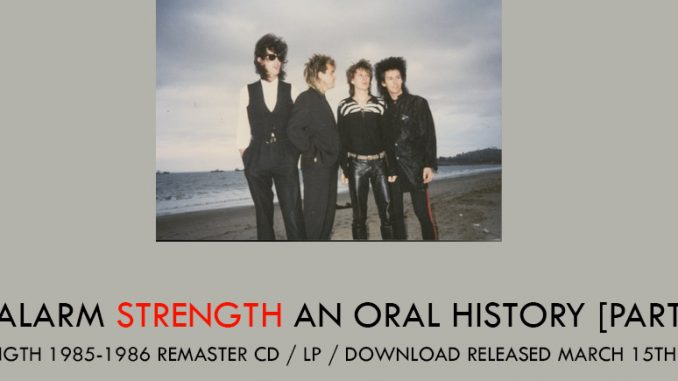 ∑ Strength Oral History – The Alarm