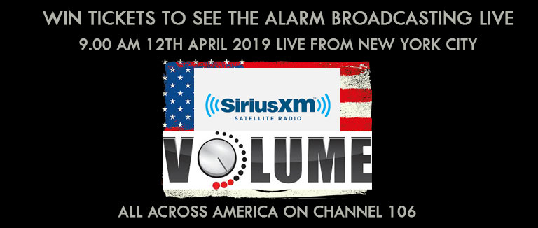 Sirius Xm Channels List 2020.Win Tickets To See The Alarm Broadcasting Live Across The
