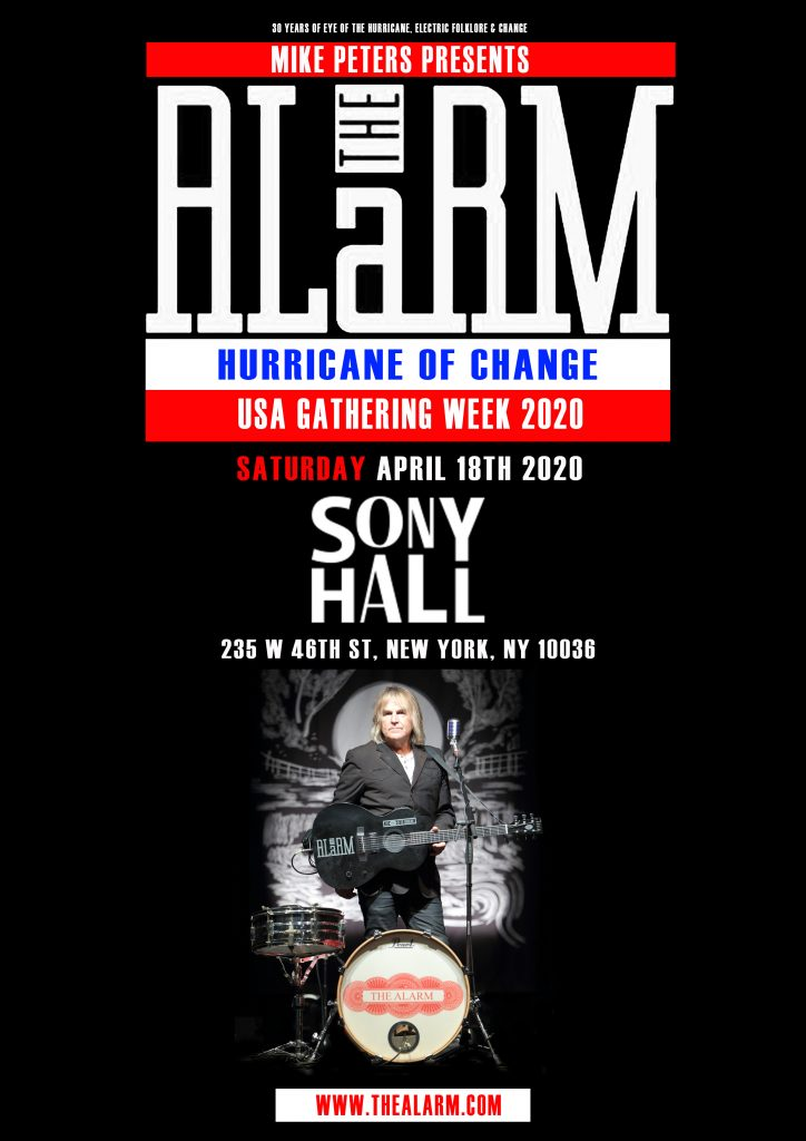 Smashing Pumpkins Tour Dates 2020.Hurricane Of Change New York Sony Hall April 18th 2020